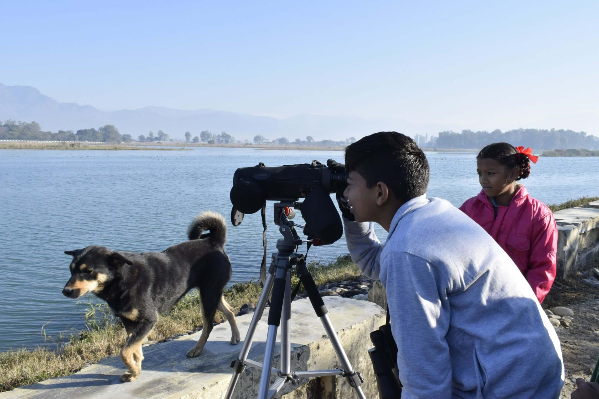 A visit to Assan Barrage to watch migratory birds