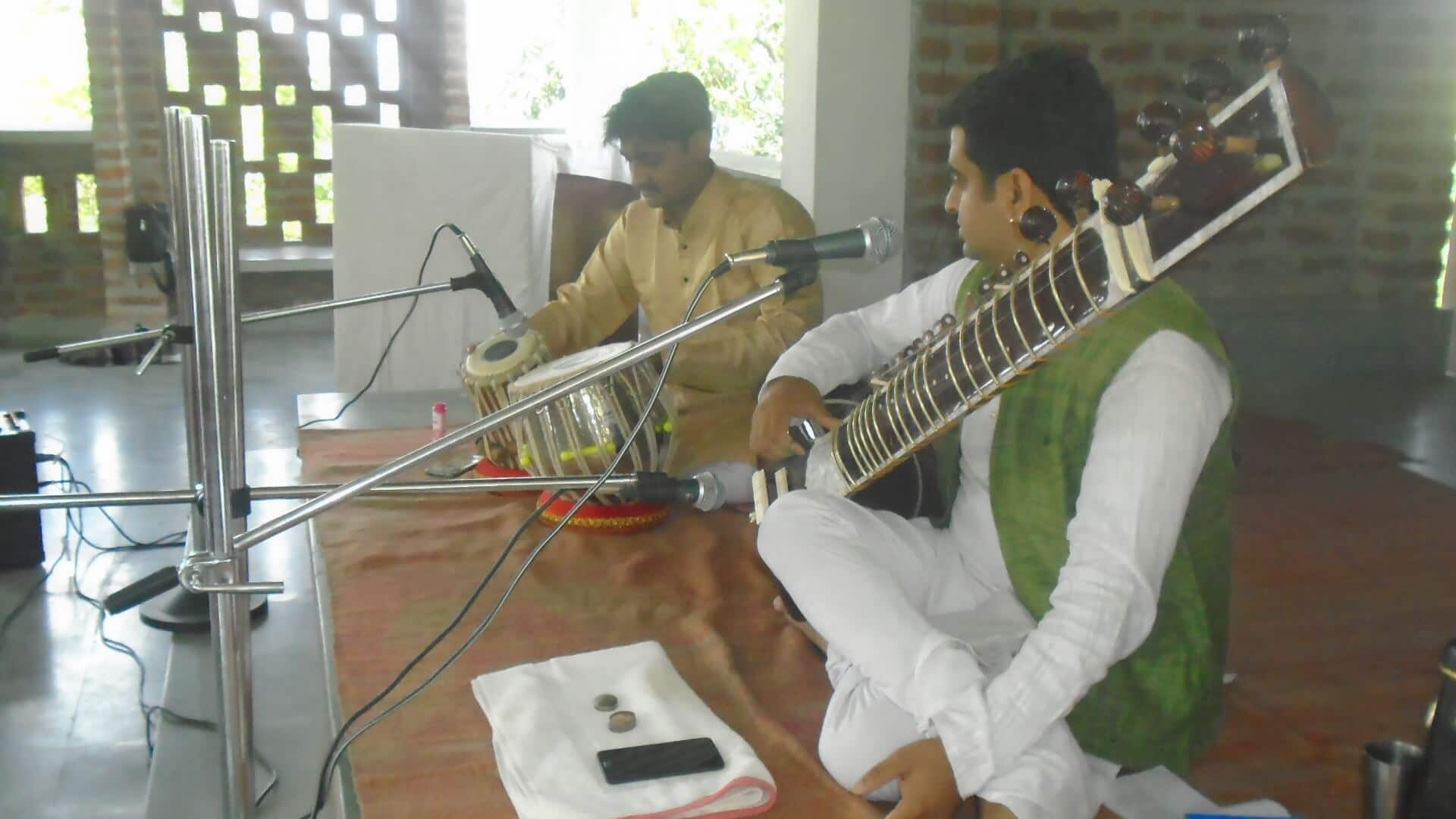 SPICMACAY event in our school – Sitar recital