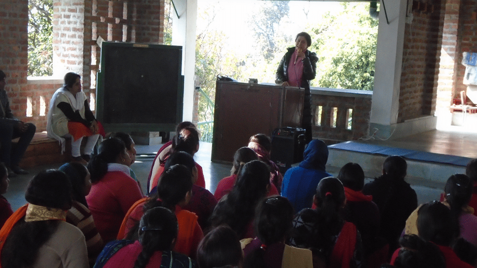 Parent development programme – talk by Ms. Shefali Chopra Gandhi